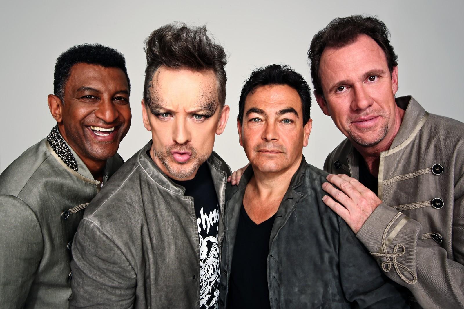 Culture Club 1 - 2014 LtoR Mikey, BG, John, Roy